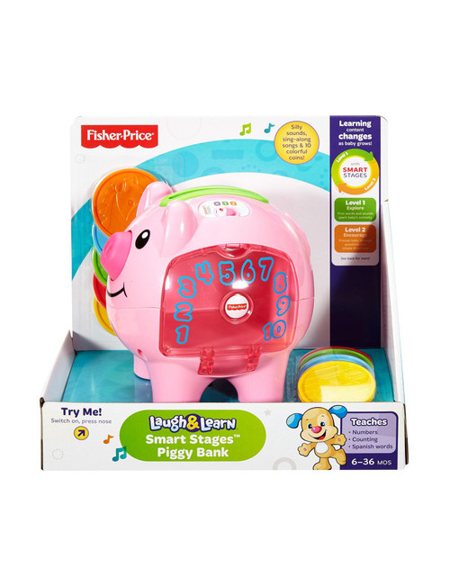 Fisher Price Count N Learn Piggy Bank