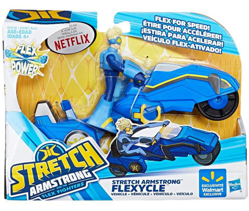 Stretch Armstrong Figure w Vehicle Asst