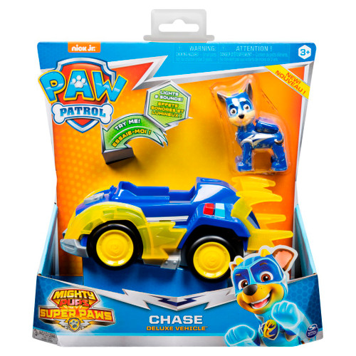 Paw Patrol Chase Figure w Deluxe Vehicle