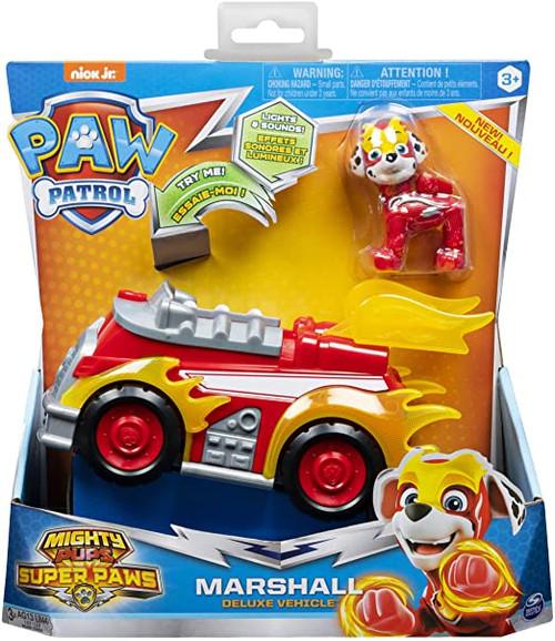 Paw Patrol Marshall Figure w Deluxe Vehicle