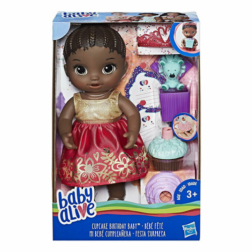 Baby Alive Cupcake Birthday Baby African American