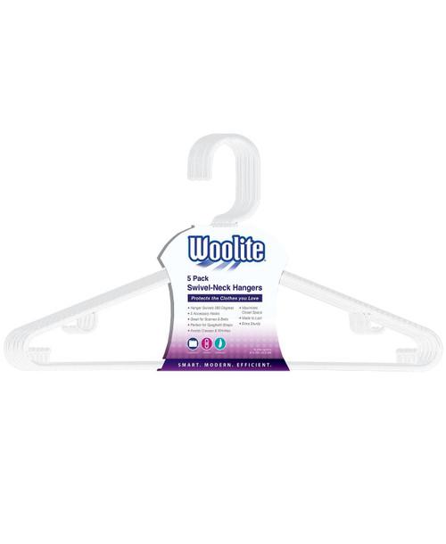 Swivel Hanger Woolite Hook White 5pk NOW 2.99!!!!