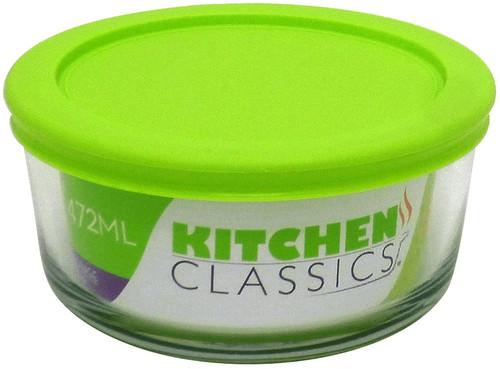 2 Cup Rnd Storage w/Lid Kitchen Classics