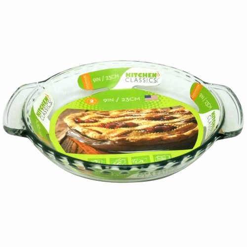 9'' Pie Dish Fluted Kitchen Classics