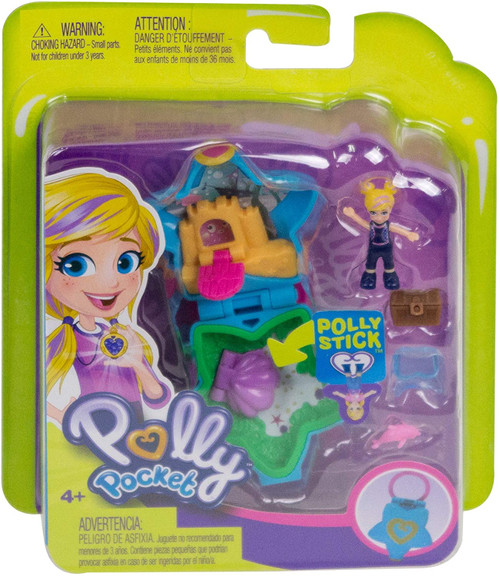 Polly Pocket Tiny Pocket World 4 Playset