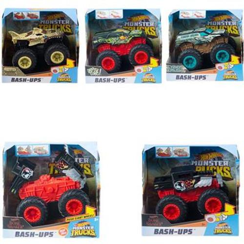 Hot Wheels Monster Trucks Bash Ups 1:43 Asst