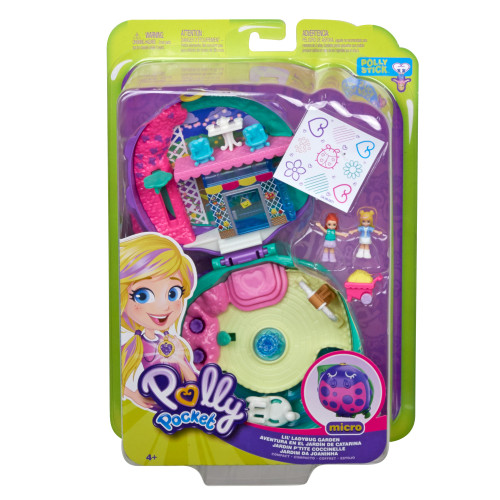 Polly Pocket Micro Lil Ladybug Garden