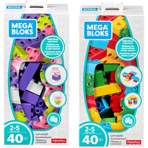 Mega Bloks Lets Build Set 40pc