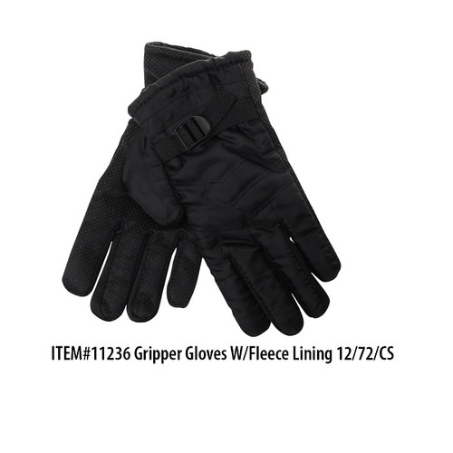 Mens Gripper Glove w/ Flc Ln Thermaxxx