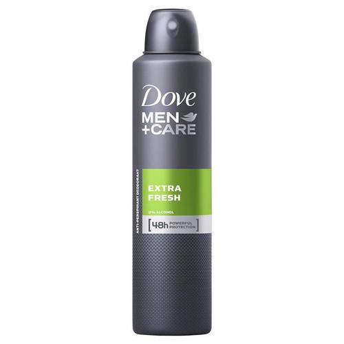 Dove Deodorant Spray Mens Extra Fresh 250ml