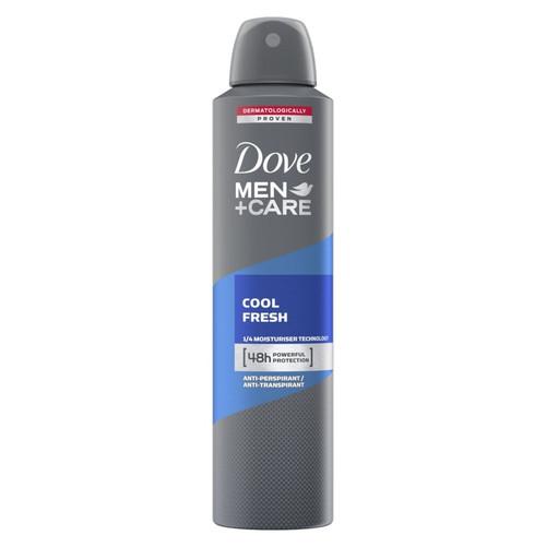 Dove Deodorant Spray Mens Cool Fresh 250ml