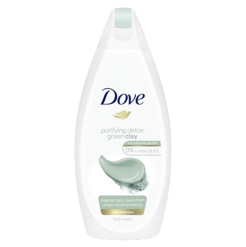 Body Wash- Dove Purifying Detox Green Clay 500ml
