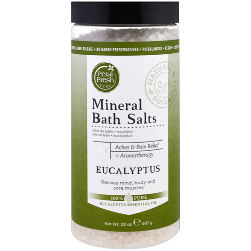 Petal Fresh Mineral Bath Salts Eucalyptus 20oz
