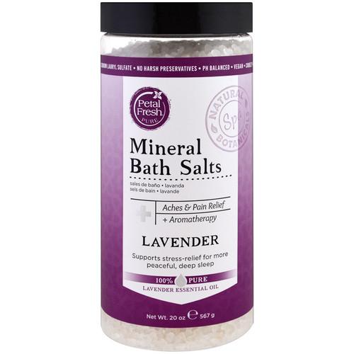 Petal Fresh Mineral Bath Salts Lavender 20oz