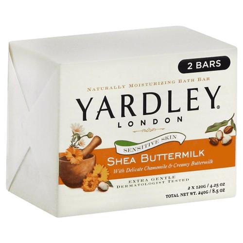 Soap- Yardley 2pk- Shea Butter 4.25oz