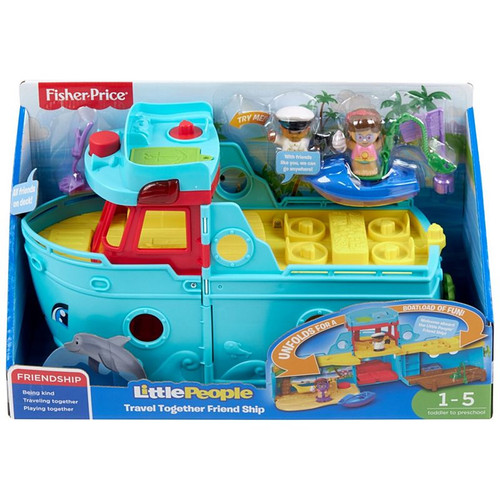 Fisher Price Little People Travel Tog Friend Ship
