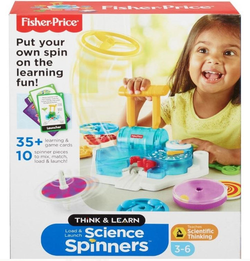 Fisher Price Think & Learn Science Spinners Set