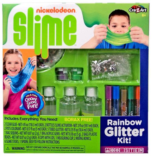 Cra-Z-Art Nickelodeon Slime Rainbow Glitter Kit