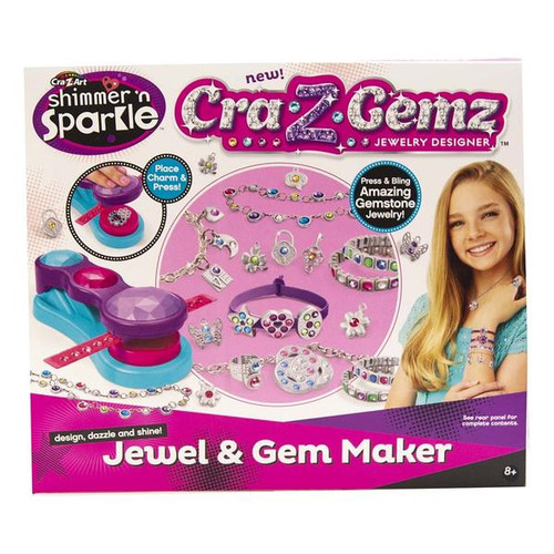 Cra-Z-Gemz Jewel & Gem Maker Set