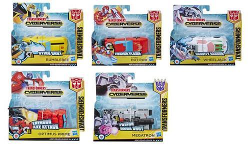 Transformers Cyberverse 1 Step Figures 5 Asst