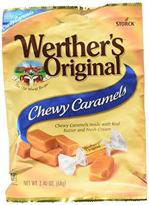 Werthers Chewy Carmel Candy 2.22oz