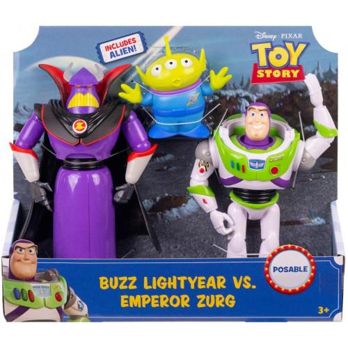 Buzz Light Year/Emperor Zurg Figures