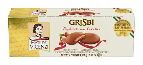 Matilde Vicenzi Grisbi Hazelnut Cookies 5.29oz