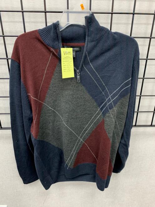 Mens 1/4 Zip Sweaters- Assorted Colors