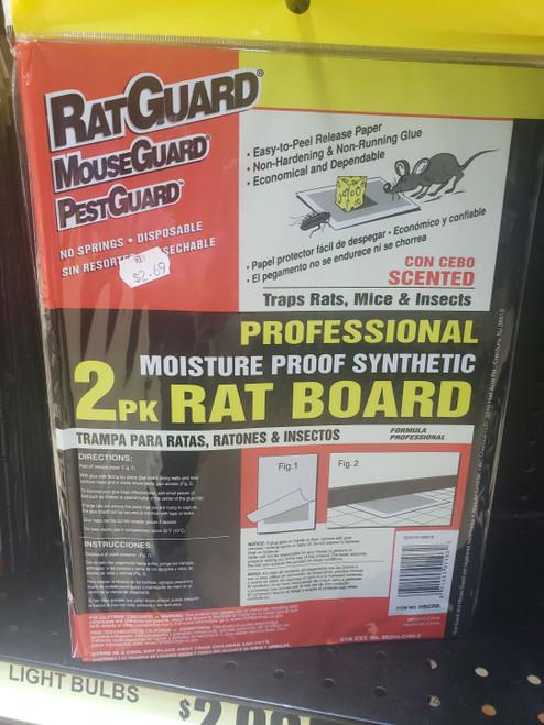 RatGuard Large Rat Glue Board 2pk