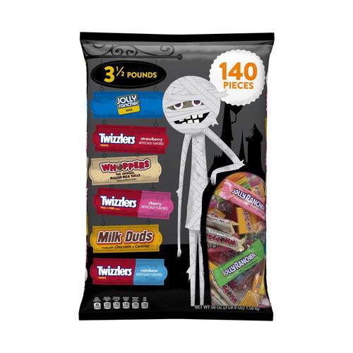 Jolly Rancher/Twizzler/Milk Dud/Whopper 140pc Bag