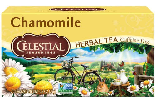 Celestial Seasonings Chamomile Herbal Tea, 20 Tea Bags