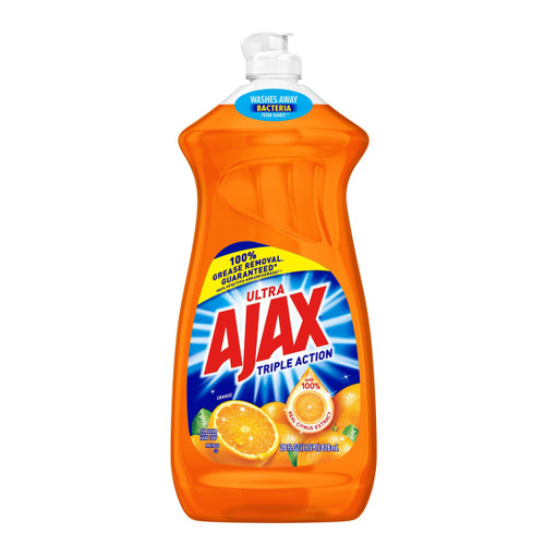 Ajax Triple Action Dish Liquid, Orange, 28 fl oz