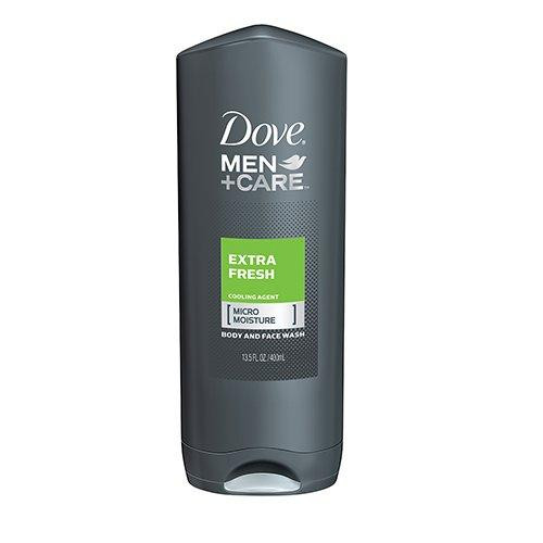 Dove Men +Care Body and Face Wash, Extra Fresh, 400 ml