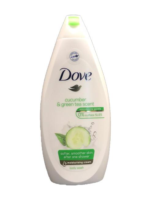 Dove Go Fresh Cool Moisture Fresh Touch Body Wash, Cucumber and Green Tea, 500 ml