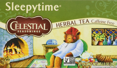 Celestial Seasonings Herbal Tea, Sleepytime, 20 Tea Bag