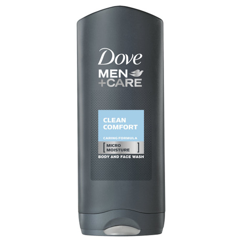 Dove Men +Care Body and Face Wash, Clean Comfort, 400 ml