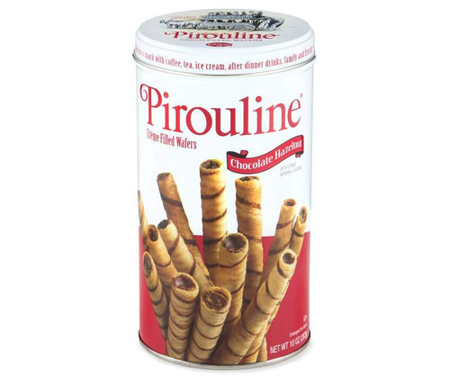 Pirouline Wafers, Chocolate Hazelnut, 10 oz