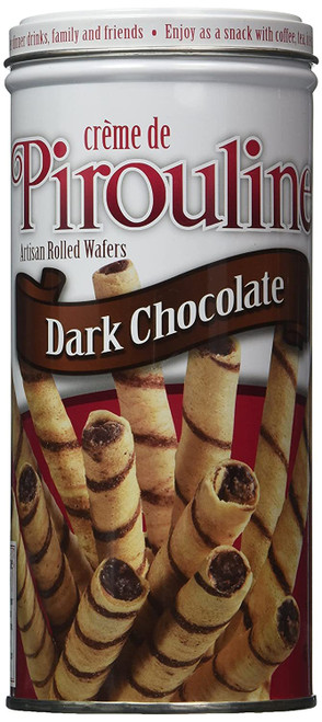 Pirouline Wafers Dark Chocolate, 3.25 oz