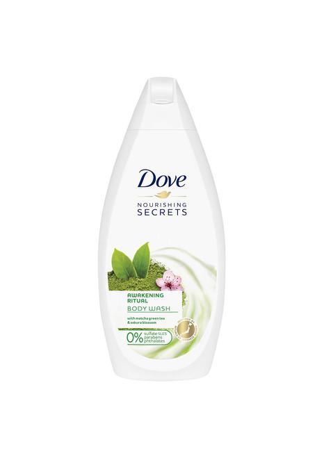 Dove Nourishing Secrets Awakening Body Wash with Matcha Green Tea & Sakura Blossom, 500 ml