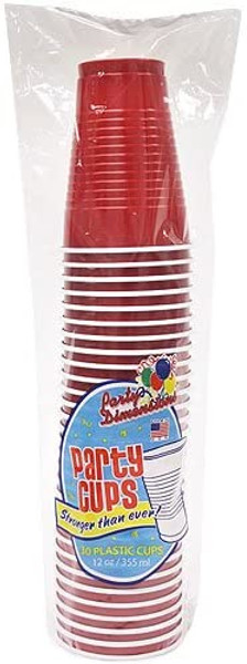 Party Dimensions Red Party Cups, 12 Oz, 30 Cups