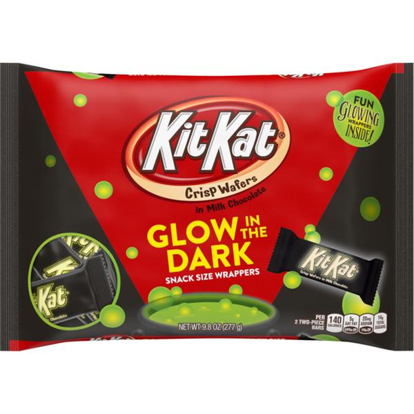 Kit Kat Bars Glow in the Dark Bag 9.8oz