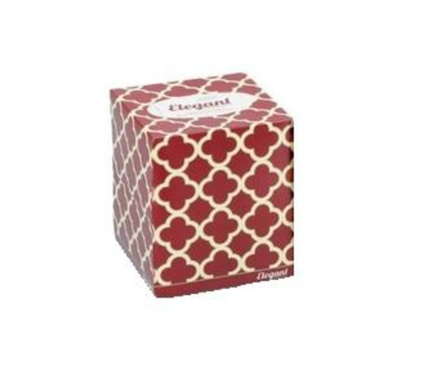Elegant Facial Tissue Cube Box, 80 tissues