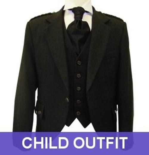 Child Charcoal Crail Jacket