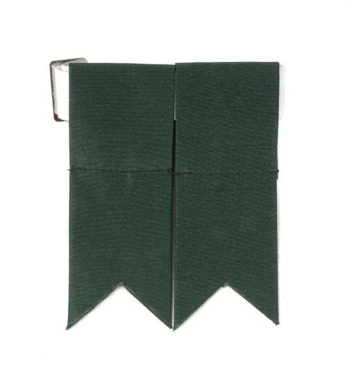 Garter Flashes - Bottle Green