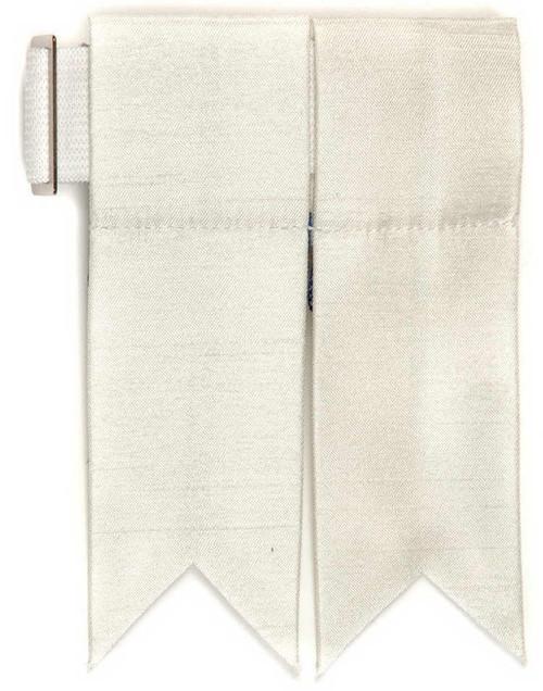 Garter Flashes - Ivory