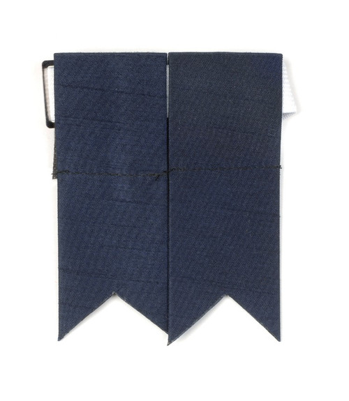 Garter Flashes - Navy Blue