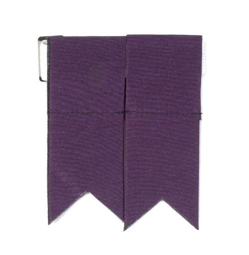 Garter Flashes - Purple