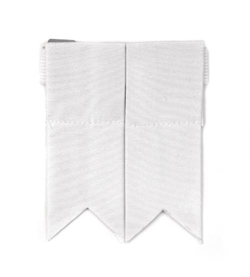 Garter Flashes - White