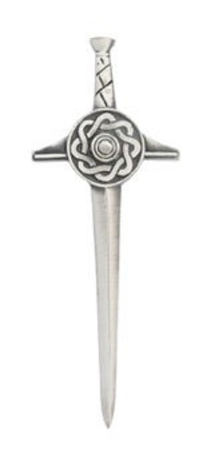 Pewter Kilt Pin Matt Finish KP31M