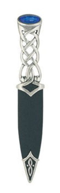 Tay Polished Pewter Sgian Dubh